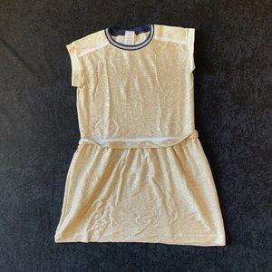 Girl's Crewcut Gold Dress